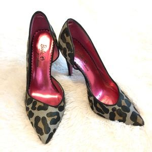 Leopard Print Heels Barbie Edition